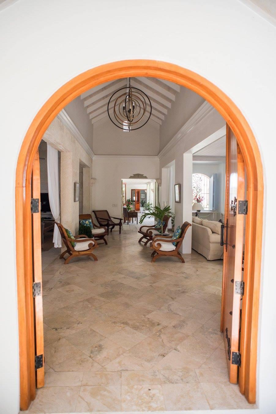 door open leading to the inside