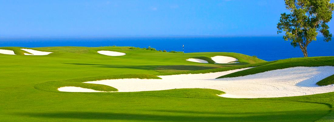 Barbados golf course